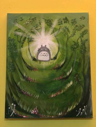 Tontoro Acrylic Painting