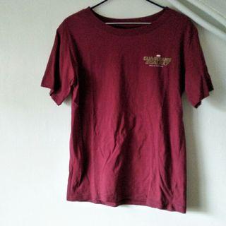 🚚 MARVEL x GALAXY 磚紅 休閒 短袖T恤