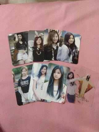 🚚 TWICE TZUYU Fansite Photocard Set