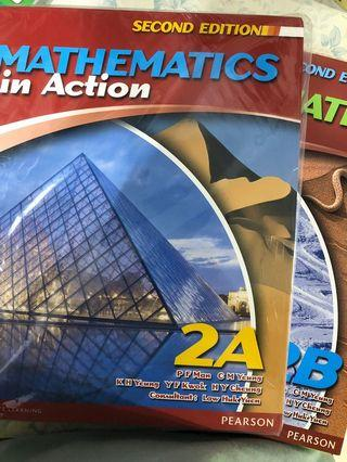 [Form2 math] Mathematics in Action 2A&2B