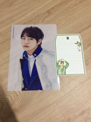 BTS 5th Term Army Kit A4 Clear Poster