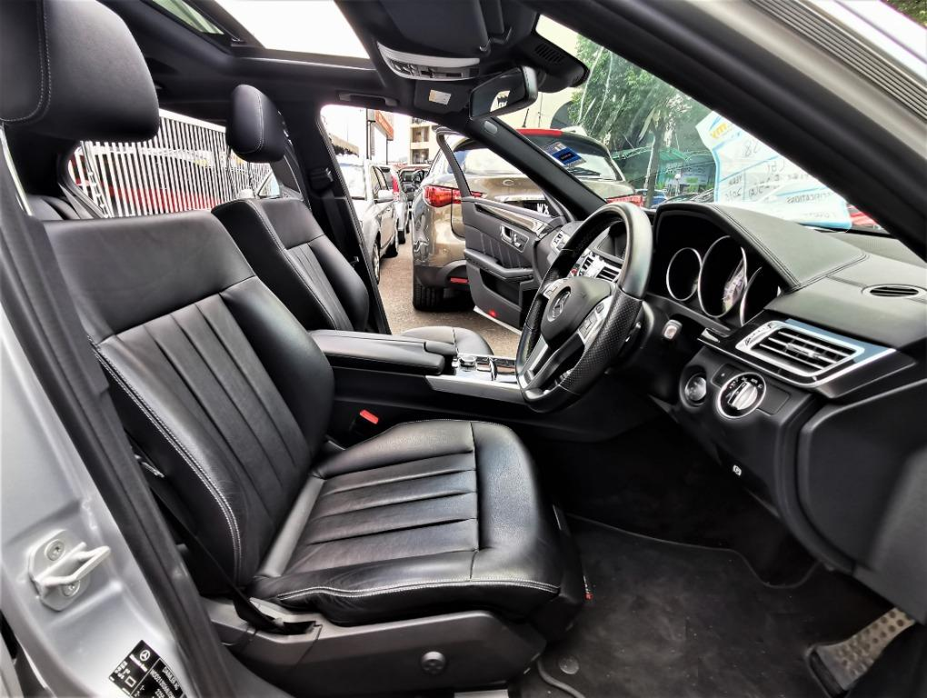 2016 Mercedes Benz E250 (CKD) 2.0 (A) AMG LINE[1ONWER][TIPTOP][LOW MILEAGE 20,000KM]