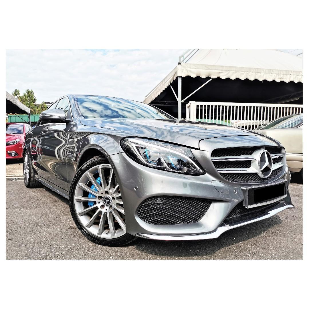2018 Mercedes Benz C350 2.0 E AMG (A) [UNDER WARRANTY][11,000KM ONLY]