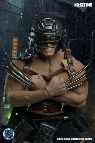 (PO) SUPER DUCK 1/6 MARVEL X-MEN WEREWOLF EXPERIMENTAL EDITION ACCESSORIES a.k.a WEAPON-X WOLVERINE (EXCLUDED BODY)