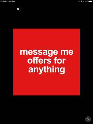 Offer me please
