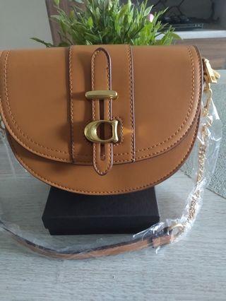 COACH Inspired saddle bag
