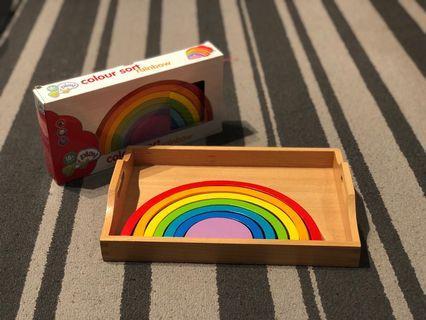 Rainbow Sorting Puzzle
