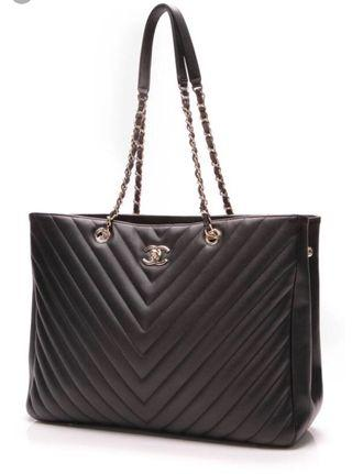🚚 Chanel Timeless Classic Large Shopping Tote Bag