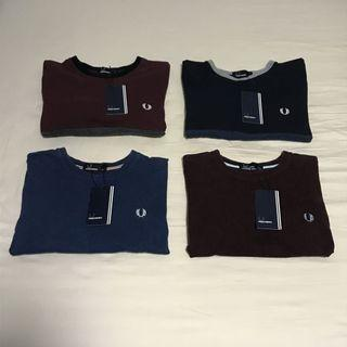 Fred Perry Premium Classic T-shirts / Tees