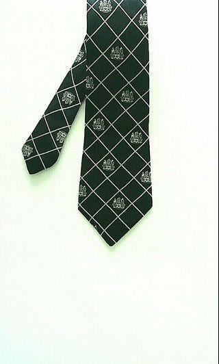 Aquascutum Silk Navy Blue Tie