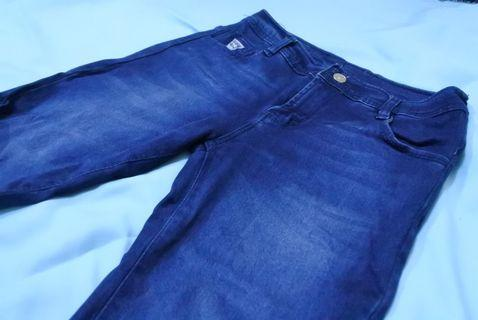 Pull and Bear Fringe Jeans