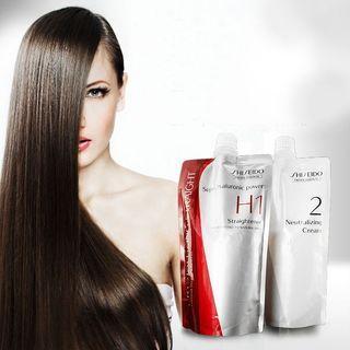 Shiseido H1 Professional Crystallizing Straight + Neutralizer