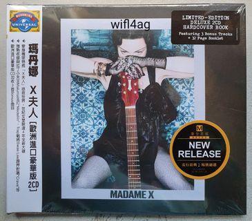 Madonna Madame X Taiwan Deluxe 2 CD Album