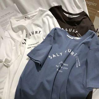 White/blue t shirt
