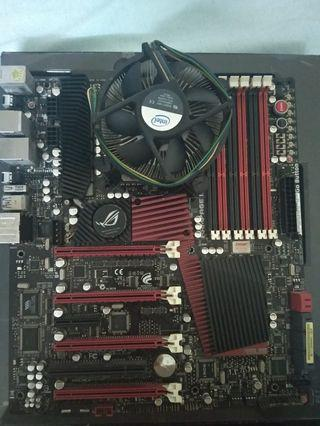 Motherboard asus rampage extreme 3