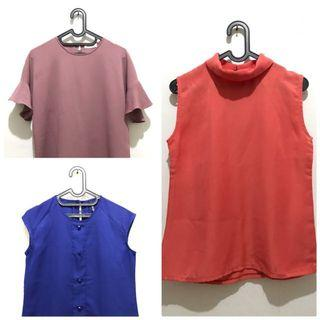 Get 3 Blouse for 75K! (Good Quality)