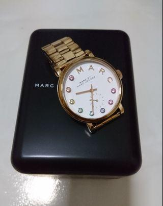Marc Jacobs Metal Strap (in Gold Color) diameter 36mm MBM 3441 (Authentic)