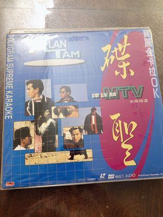譚詠麟 金曲精選 寶麗金卡拉OK   Alan Tam's best hits LD