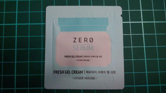 [小樣] Etude House 好理油~清爽凝露 zero sebum fresh gel cream