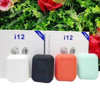 🚚 i12 Tws Wireless Airpods