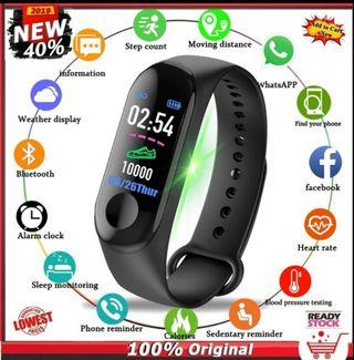 🚚 M3 Waterproof Smartwatch Fitness Tracker Pedometer