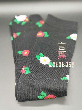 🚚 Japan Knee High Floral Socks
