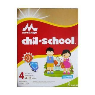 Chilschool morinaga vanila tahap 4 1,6kg