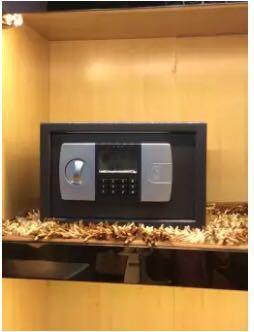 Electronic password safe deposit box safe lock box -intl
