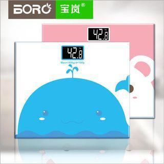 🚚 Bao Lan mini electronic scale household body health weight scale electronic weighing -intl