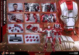 Hot Toys Iron Man mk5 diecast