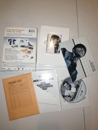 Used blu ray movie boxset