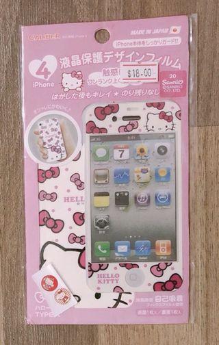 🚚 Hello Kitty Screen iPhone 4/4s Protector