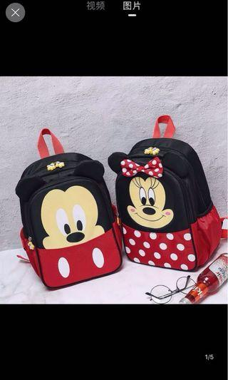 Minnie/ Mickey Mouse children bag