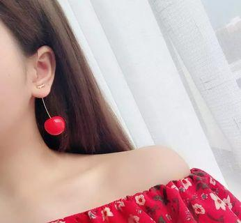 Red Cherry Earring (NEW!)