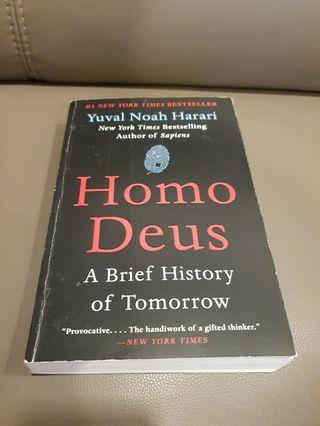 🚚 Homo deus - a brief history of tomorrow by Yuval Noah Harari