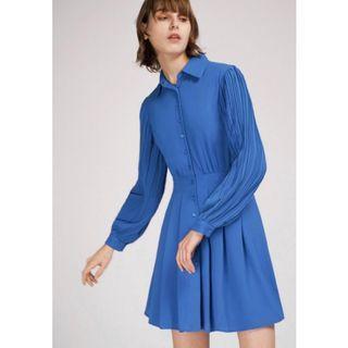 BNWT Saturday club shift dress with pleated hem Size L