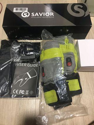 🔥OFFER🔥 Heated Gloves with Rechargeable Li-ion Battery Heated for Men and Women, Warm Gloves for Cycling Motorcycle Hiking Skiing Mountaineering, Works up to 2.5-6 Hours (Size Small)