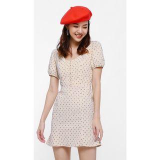 🚚 BNWT Love Bonito Fuvor puff sleeve mini dress Size M