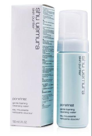 SHU UEMURA POREFINIST GENTLE FOAMING CLEANSING WATER,150ml