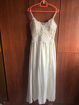 Sweet Yellow Bridal/Bridesmaid Gown