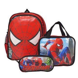 Tas sekolah anak spiderman. Tas beranak. Dapat semua sesuai gambar. Barang dijamin sesuai gambar. Rp.95000