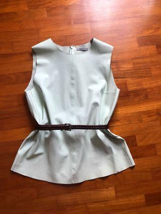 🚚 COS genuine leather top