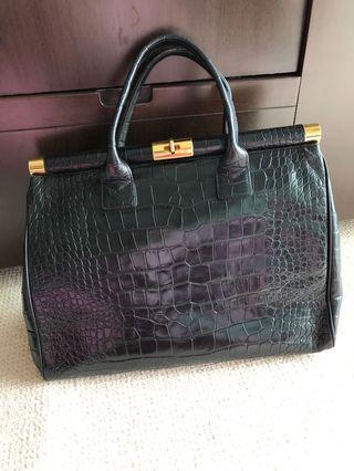 Giseppe zanotti leather bag