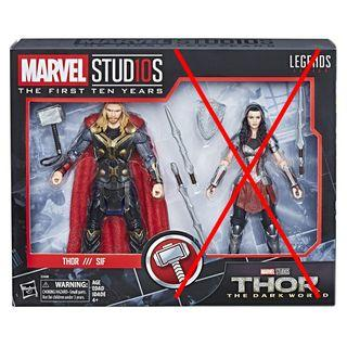 Marvel Legends Thor 雷神 Infinity War 無限之戰 End Game 復仇者聯盟 Avengers shf, figma, mezco spiderman ironman captain america