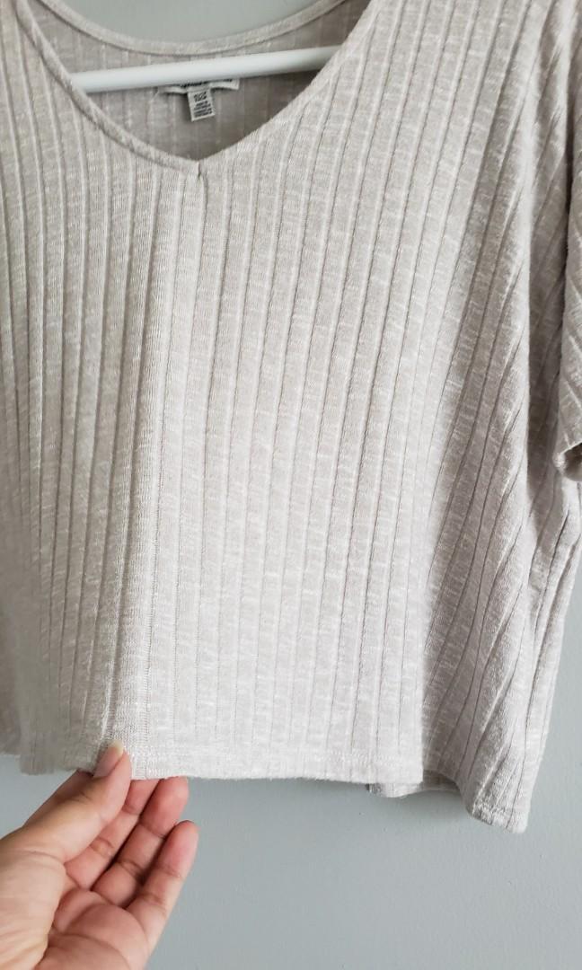 American Eagle Ribbed Shirt