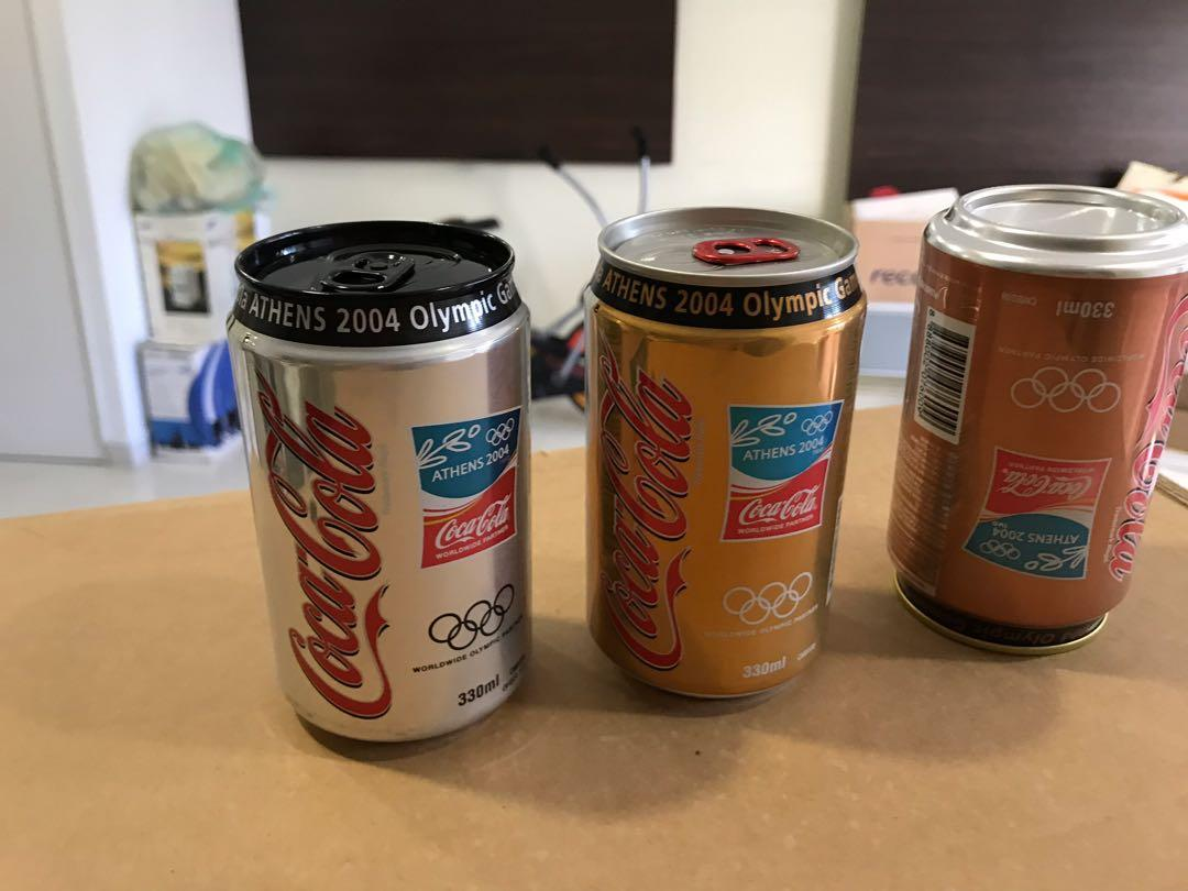 Athens Olympic Cans
