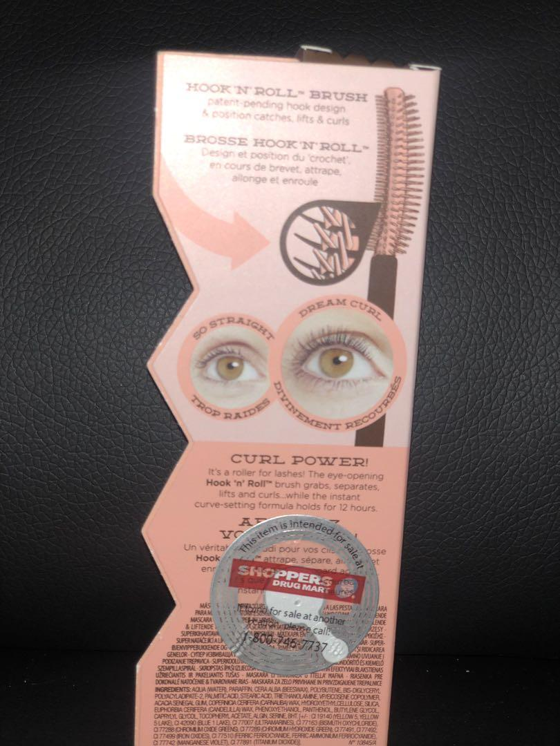 "Benefit cosmetics ""Roller Lash"" SUPER-CURLING AND LIFTING MASCARA"