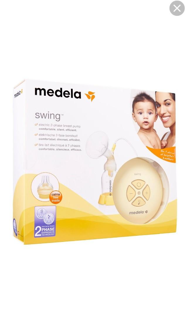 Bn Medela Swing Single Electric Breast Pump Babies Kids