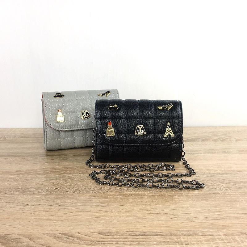 BOM2097 IDR.100.000 MATERIAL PU SIZE L17XH12XW9CM WEIGHT 500GR COLOR BLACK, GRAY
