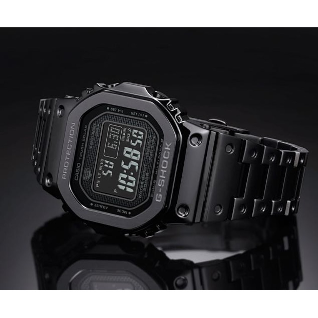 Brand New G Shock Gmw B5000gd 1 Black Full Steel Bracelet Watch
